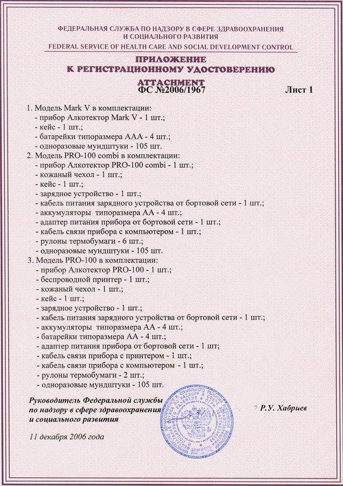 инструкция алкотектор Pro-100 Combi - фото 2